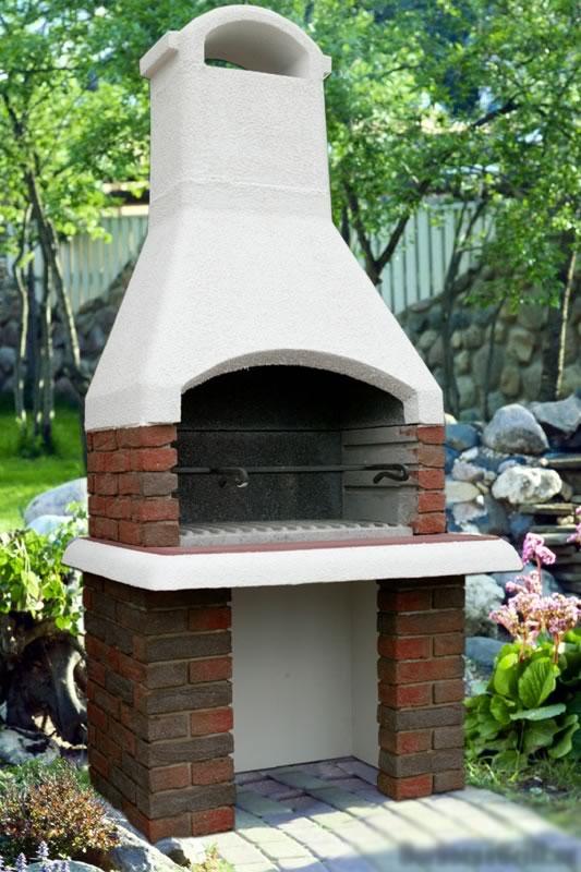 Садовая печь барбекю добрая фундамент электрокамины в москве недорого