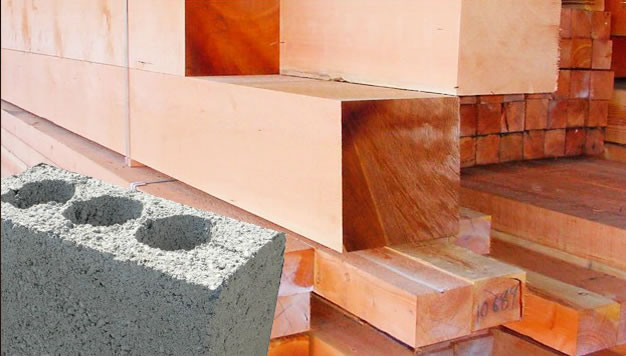 строительные материалы, пиломатериал, керамзитоблоки, пеноблоки, газоблоки